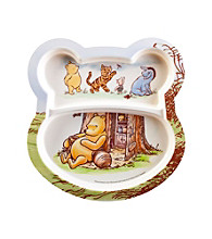 Zak Designs® Disney Pooh® 2-pk. Shaped Plate