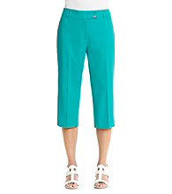 Briggs New York® Traditional Waistband Crop Pant