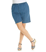 Breckenridge® Plus Size Denim Short