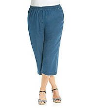 Breckenridge® Plus Size Denim Capri