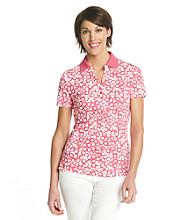 Studio Works® Circle Print Polo