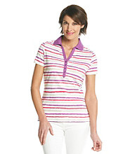 Studio Works® Bright Stripe Polo
