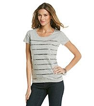Jones New York Sport® Sequin Tee