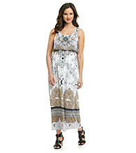 Oneworld® Blouson Top Maxi Dress