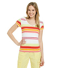 Calvin Klein Performance Multi Stripe Tee