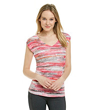 Calvin Klein Performance Burnout Stripe Tee