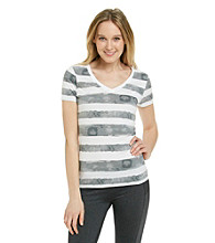 Calvin Klein Performance Painted Stripe Tee