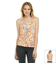 Calvin Klein Performance Kaleidoscope Basketweave Tank