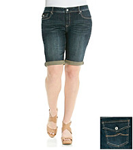 Ruff Hewn Plus Size Denim Bermuda Short
