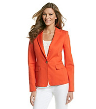 Anne Klein® One-Button Blazer