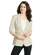 MICHAEL Michael Kors® Linen Shirred Jacket