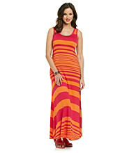 Calvin Klein Variegated Striped Maxi