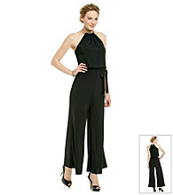 Xscape Jumpsuit With Necklace