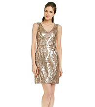 Adrianna Papell® Sequin Lace Dress