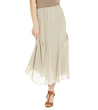 Alex Evenings® Chiffon Tea Length Skirt