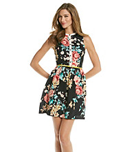 Kensie® Floral Buttondown Dress