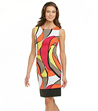 Ronni Nicole® Abstract Print Sheath Dress