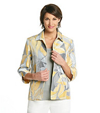 Alfred Dunner® Petites' City Of Light Abstract Print Jacket