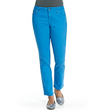 Earl Jeans Petites' Skinny Colored Denim Jean