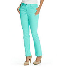 Earl Jeans® Petites' Skinny Colored Denim Jean