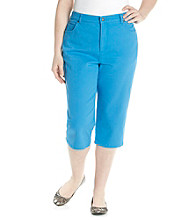 Gloria Vanderbilt® Plus Size Colored Capris