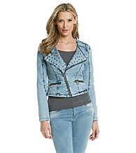 Romeo & Juliet Couture® Studded Denim Jacket