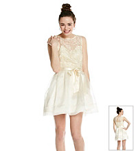 Bee Darlin' Juniors' Organza Party Dress