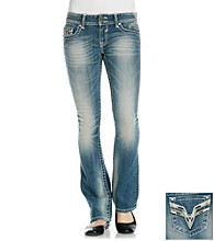 Vigoss© Bling Back Slim Bootcut Jeans