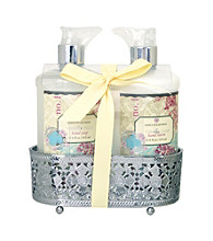 Simple Pleasures Peony & Jasmine Two Piece Caddy Set