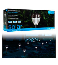 Westinghouse Set of 14 Premium Stainless Steel Solar Lights