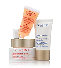 Clarins® Vital Light Age Defying Solutions Set