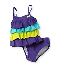 Carter's® Girls' 12M-6X Purple 2-pc. Colorblack Tankini