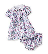 Little Me® Baby Girls' White Dainty Floral Dress Set