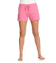 Jockey® Knit Boxer Shorts - Pink Anchors