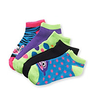 Miss Attitude Girls' Critter Face 5-pk. Shortie Socks