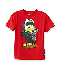Mambo® Boys' 8-20 Red Monkey Graphic Tee