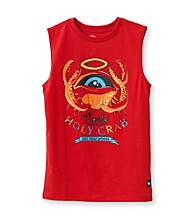 Mambo® Boys' 8-20 Red Holy Crab Muscle Tee