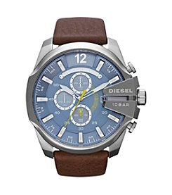 Diesel Brown Mega Chief Watch