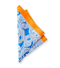 Kenneth Roberts Platinum® Men's Orange Pocket Square