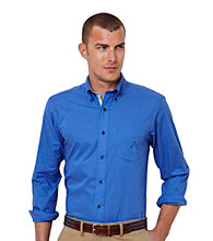 Nautica® Men's Long Sleeve Solid Button Down Shirt