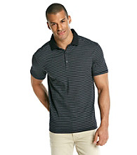 Calvin Klein Men's Deep Colbalt Short Sleeve Liquid Interlock Polo