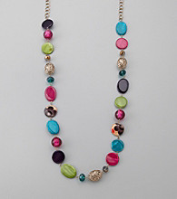 Erica Lyons® Carnival Long Necklace
