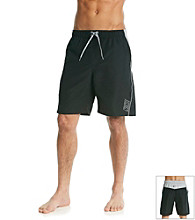 Nike® Men's Neon Black Core Contend Swim Short