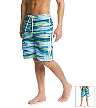 Nike® Men's Light Photo Blue Laser Stripe E-Board Swim Short