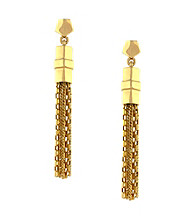 Vince Camuto® Goldtone Tassle Earrings