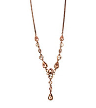 Givenchy® Rose Goldtone Necklace