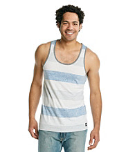 Mambo® Men's Sulphur Stripe Short Sleeve Stripe Tank Top