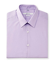 Perry Ellis Portfolio® Men's Violet Long Sleeve Slim Fit Dress Shirt
