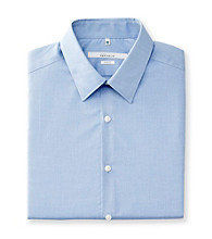 Perry Ellis Portfolio® Men's Dust Blue Long Sleeve Slim Fit Dress Shirt