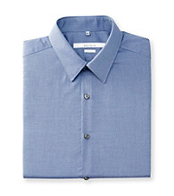Perry Ellis Portfolio® Men's Amalfi Blue Long Sleeve Slim Fit Dress Shirt